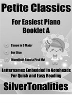 Petite Classics for Easiest Piano Booklet A