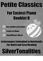 Petite Classics for Easiest Piano Booklet B